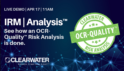 IRM _ Analysis Demo APR 17_ Clearwater