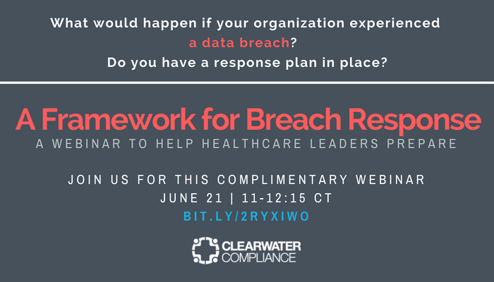 June 21 Breach Response Webinar